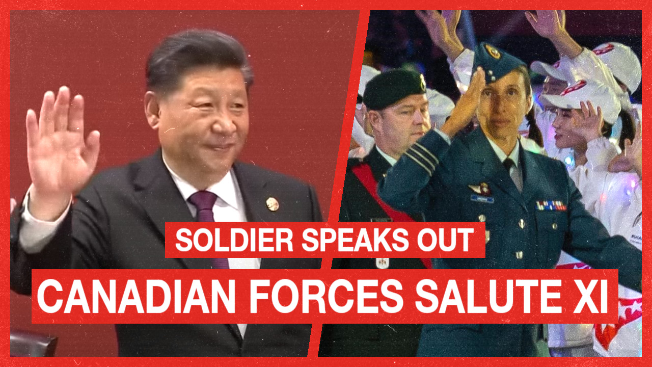 Canadian military ordered to salute Chinese president, alongside North Korea