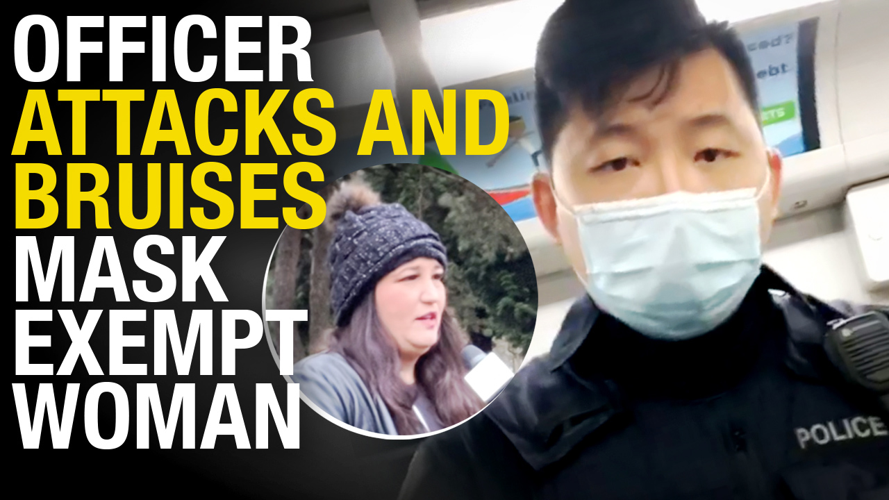 EXCLUSIVE INTERVIEW: Officer arrests mom with medical mask exemption on Vancouver SkyTrain