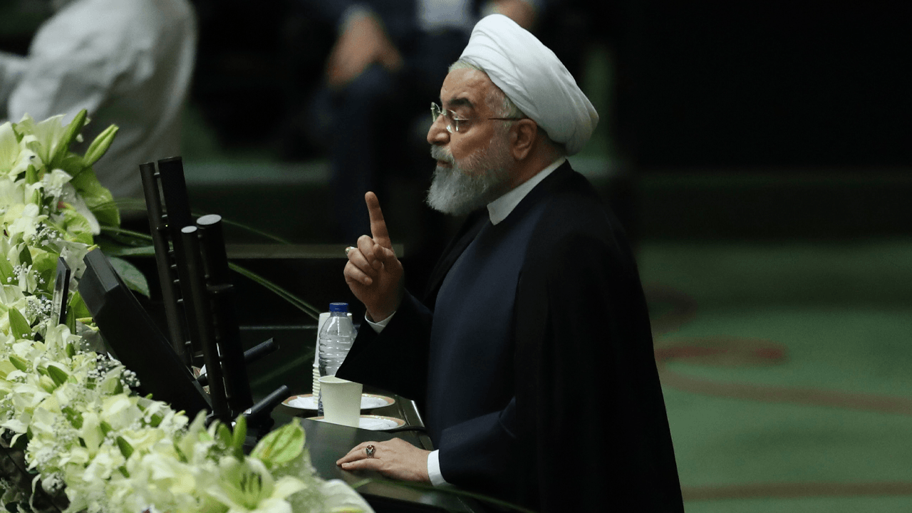 Iran's president appears to threaten Donald Trump's life