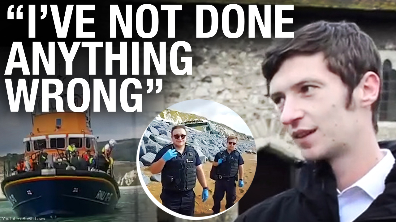 English journalist covering migrant crisis dragged to court after salvaging abandoned dinghy