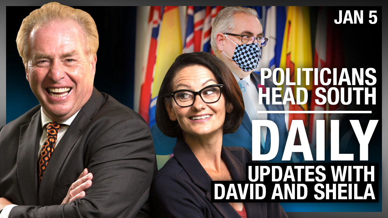 DAILY   Nice tan! Canadian politicians CAUGHT heading south for Christmas