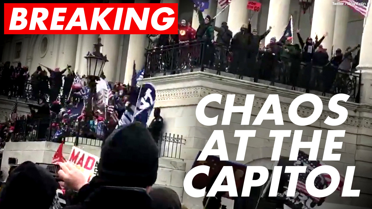 OPEN THREAD: Stop the Steal protesters inside Capitol Building in DC