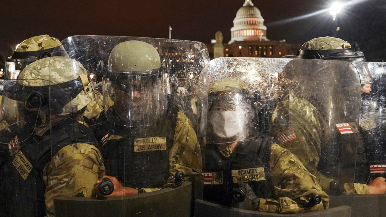 D.C. National Guard mobilized for 30 days, will cover Biden inauguration