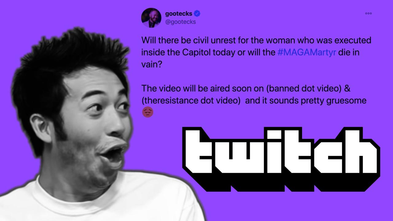Twitch bans popular emote after star calls for civil unrest