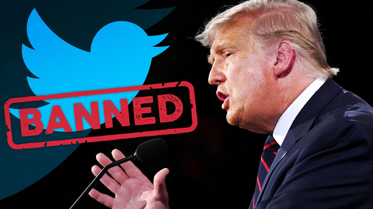 BREAKING: Twitter bans President Trump