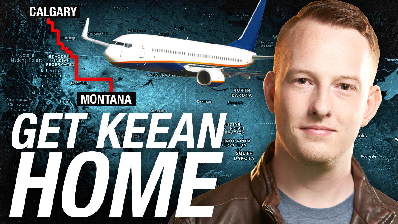 Help Get Keean Home!