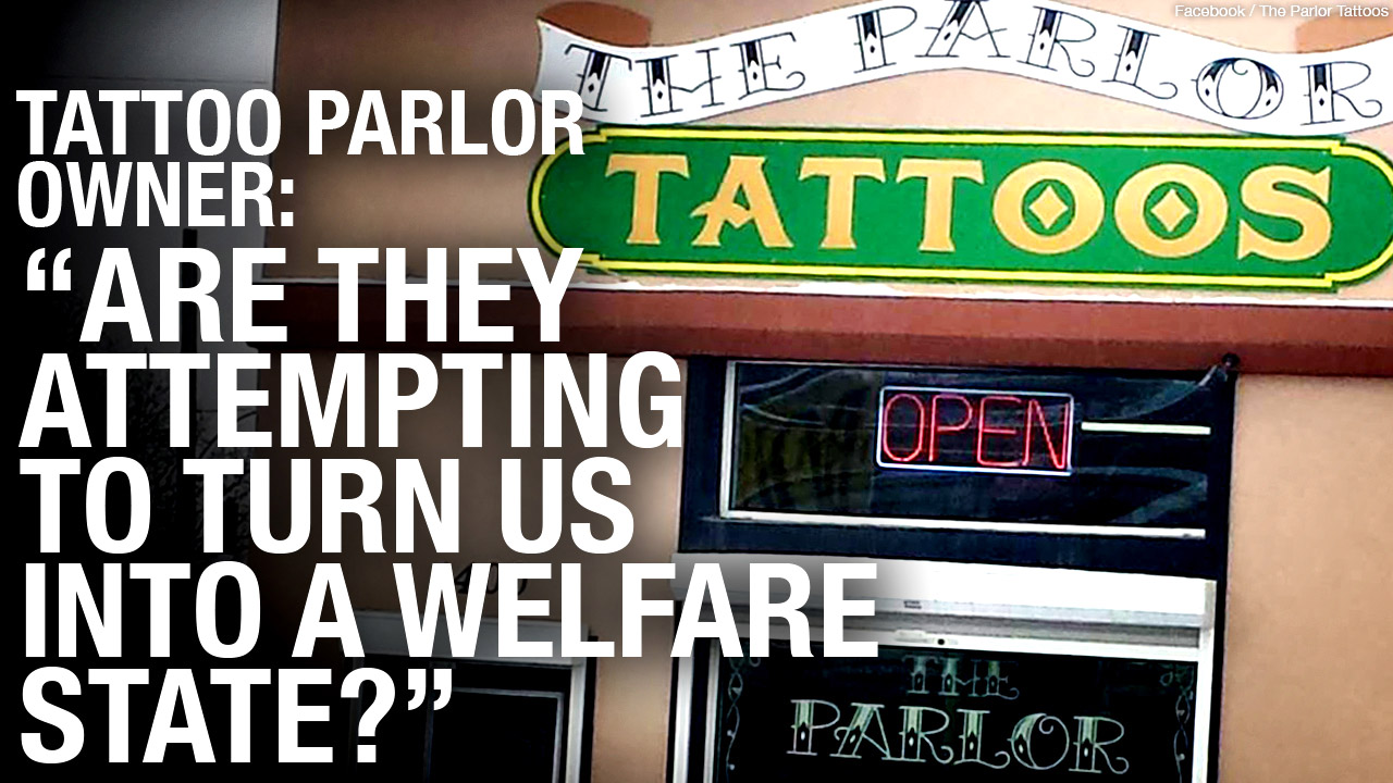 "Parlor Tattoos REOPENS in Winnipeg: ""I can't work at home... and I can't work in jail."""