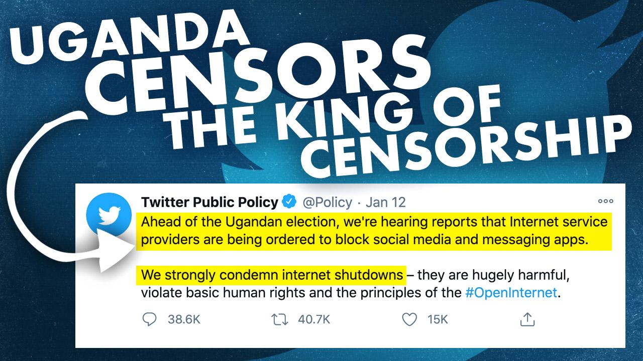 Twitter cries foul over Ugandan social media ban ahead of election