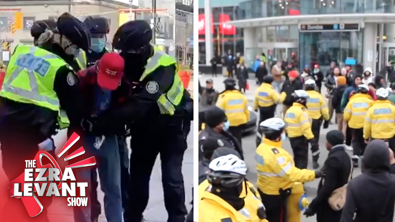 Mainstream media sat this one out | David Menzies on arrest of Toronto lockdown protesters
