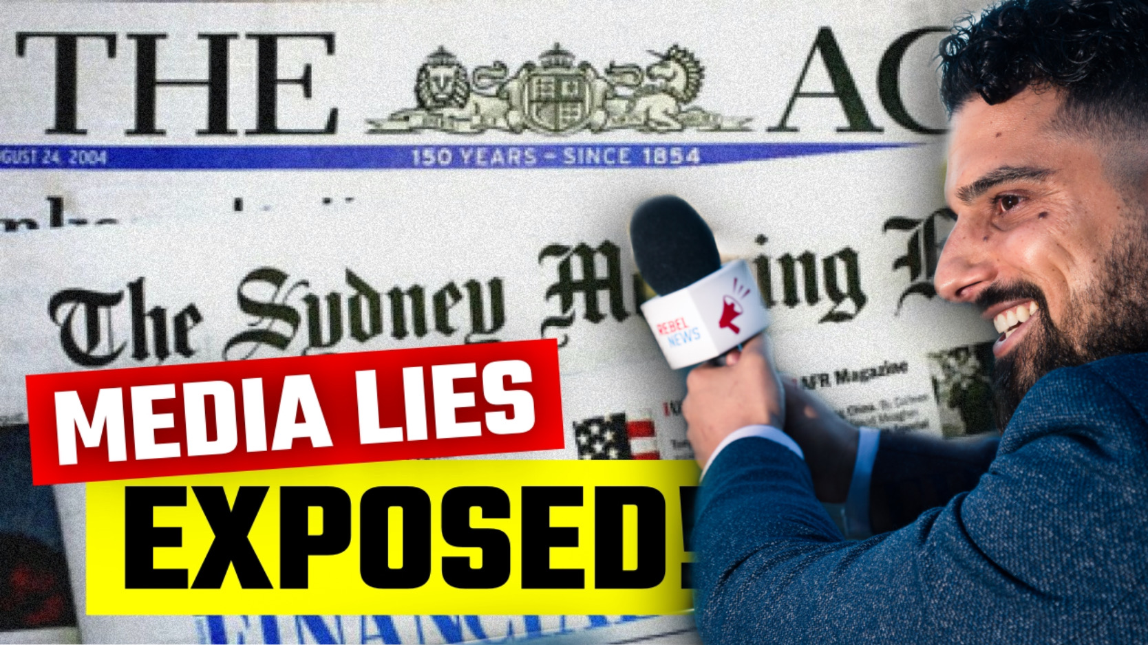 Fake News BUSTED lying about Avi Yemini