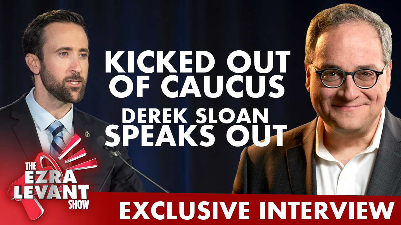 Derek Sloan kicked out of Conservative caucus: Exclusive Interview