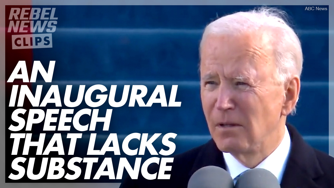Mainstream media WILL NOT scrutinize Joe Biden's presidency | Ezra Levant on Inauguration Day