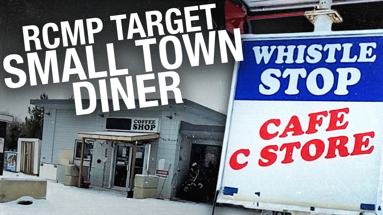 Whistle Stop Cafe's lockdown rebellion: Owner faces fines, sanctions and arrest