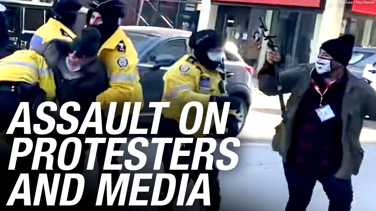 Rebel News is going to sue the Toronto Police Service