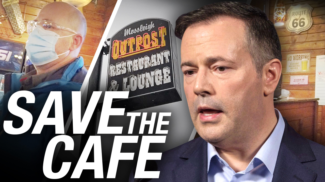 Save The Cafe: rural Alberta restaurant opens, gets a visit from RCMP and bylaw