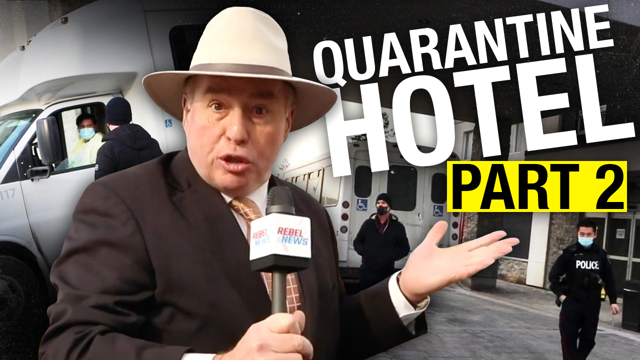 Is this Toronto's quarantine hotel?