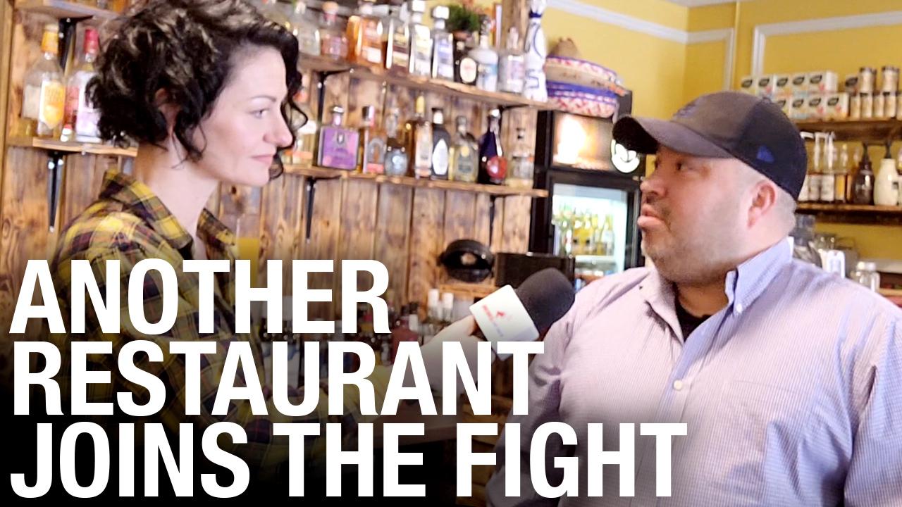Immigrants to Alberta reopen Mexican restaurant, defying lockdown orders