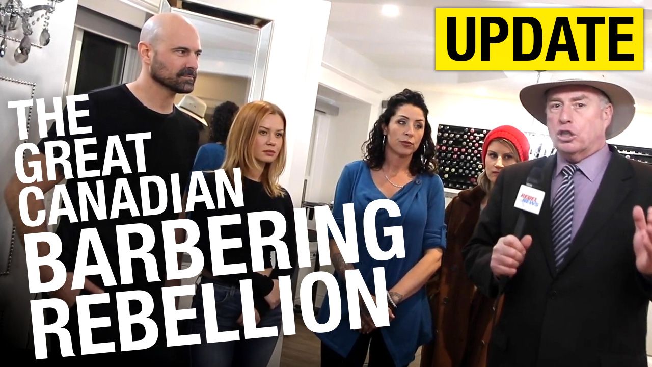 Evolution Salon and Spa reopened as a production studio but bylaw still gave out tickets