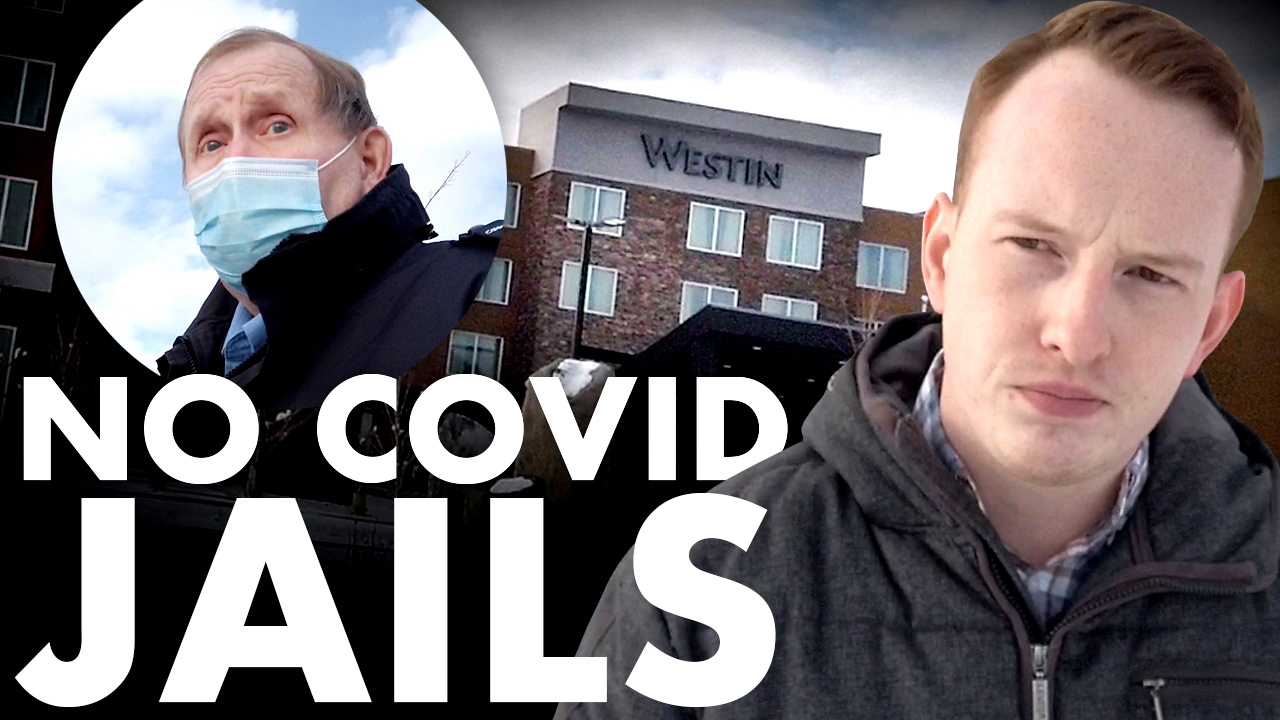 NO COVID JAILS: Woman held against her will at Calgary quarantine hotel