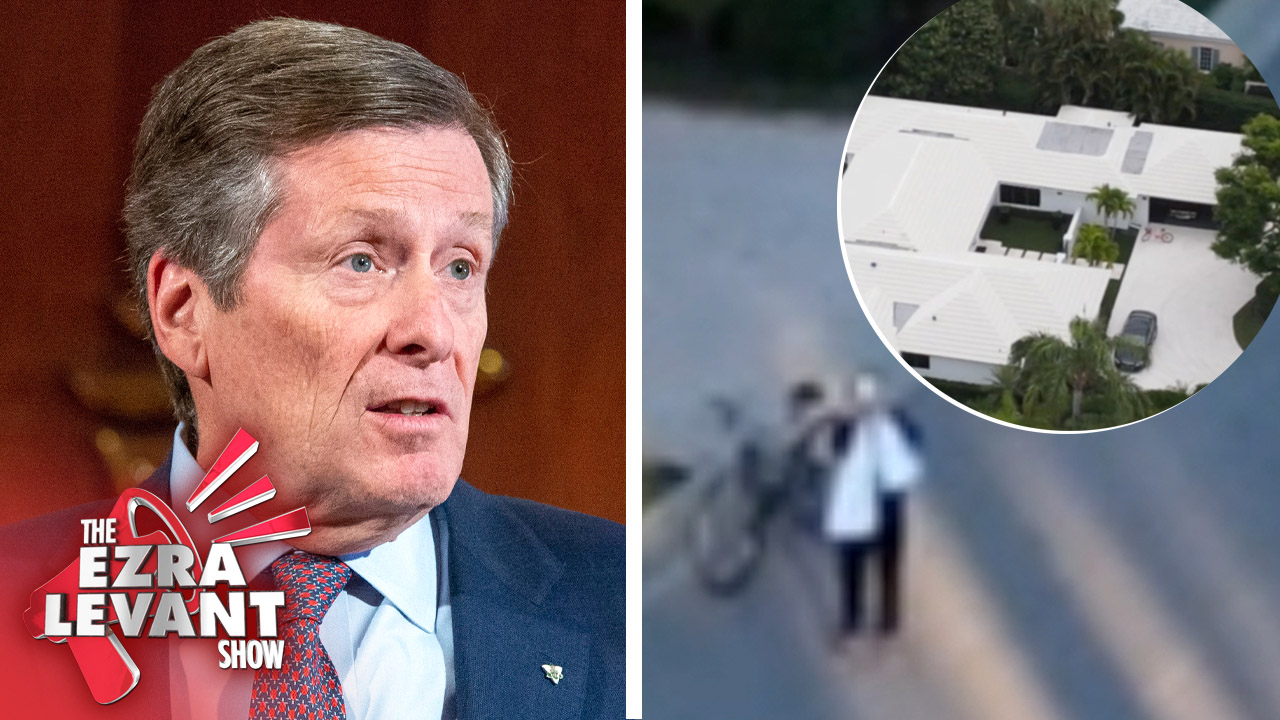 Who's at the Toronto mayor's busy Florida mansion?