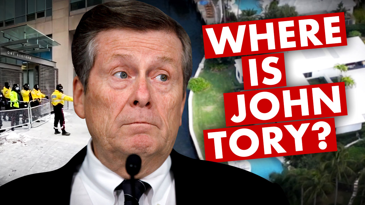 Where was Toronto Mayor John Tory on Super Sunday?