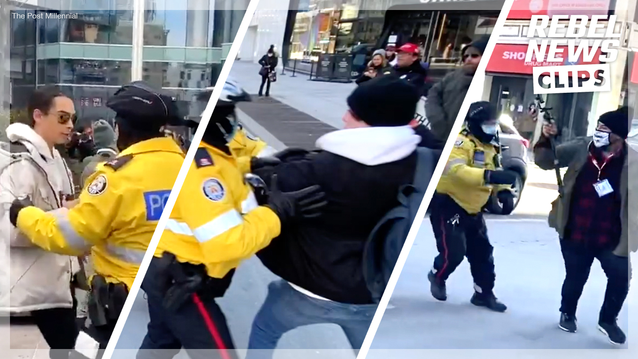 Ezra Levant lays out lawsuit against Toronto Police Service