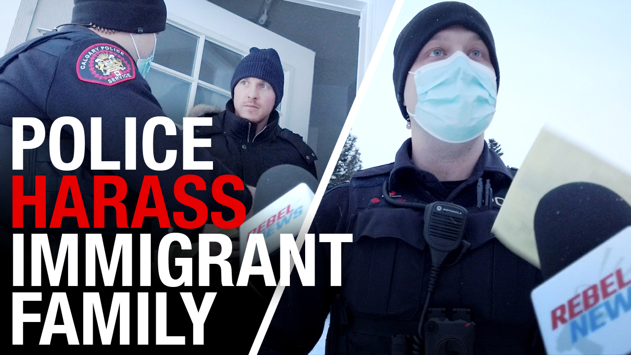 Calgary police bust immigrant support group, ask man to remove jacket in -30°C
