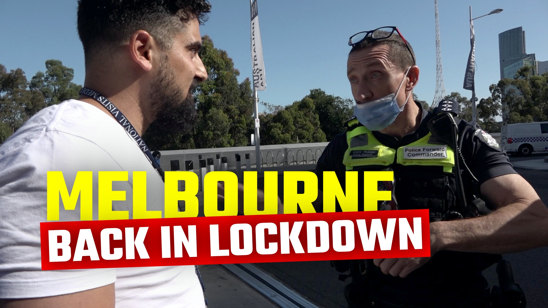 WATCH: Thousands march in protest of a THIRD Melbourne lockdown