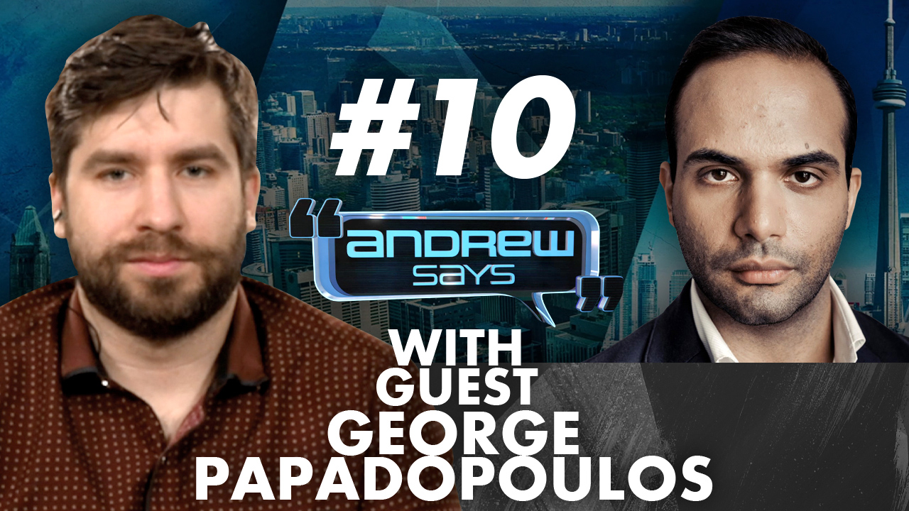 George Papadopoulos predicts Big Tech aligning with Joe Biden | Andrew Says #10