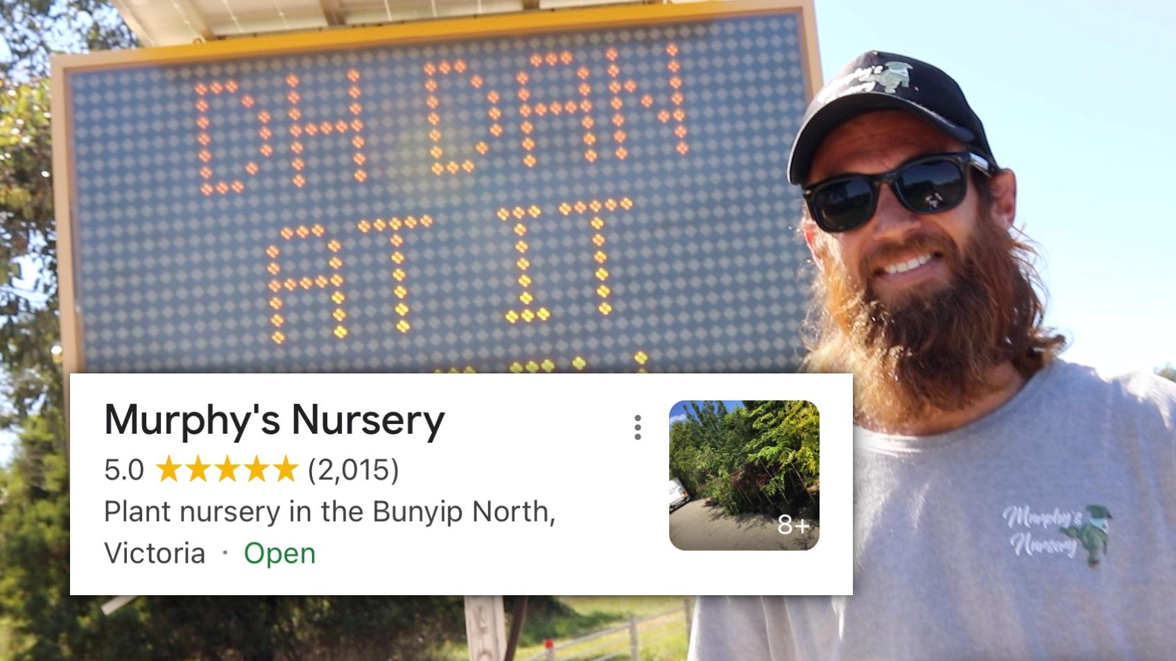 Cancel culture FAILS on Murphy's Nursery in Melbourne