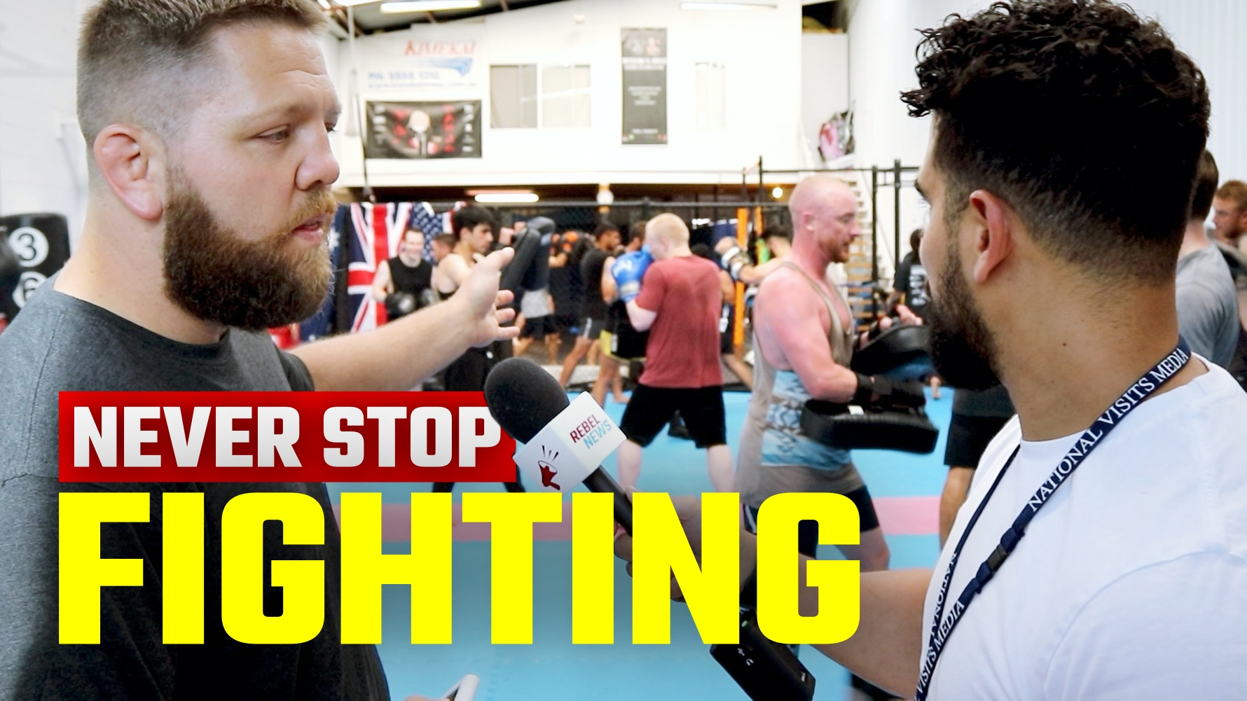 This is the fearless MMA gym that has NEVER closed for lockdown