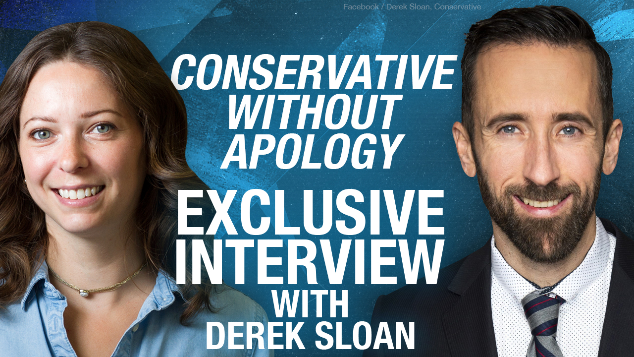 "Derek Sloan interview: ""When you're infringing on liberties, it must be justified, and in this case, it isn't."""