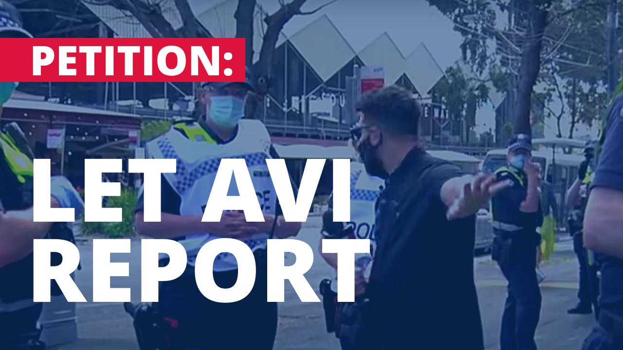Let Avi Yemini Report Petition