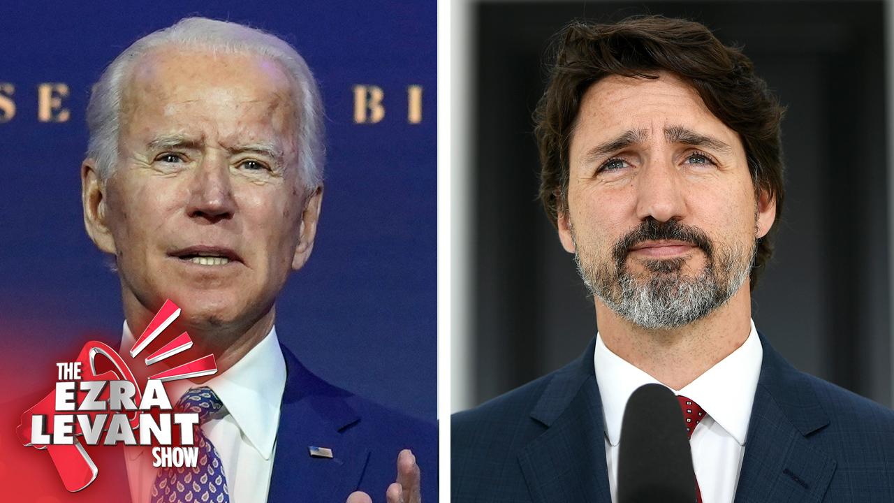 Who loves China more, Joe Biden or Justin Trudeau?