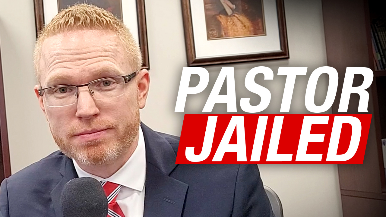 UPDATE: Pastor James Coates behind bars after church defies lockdown