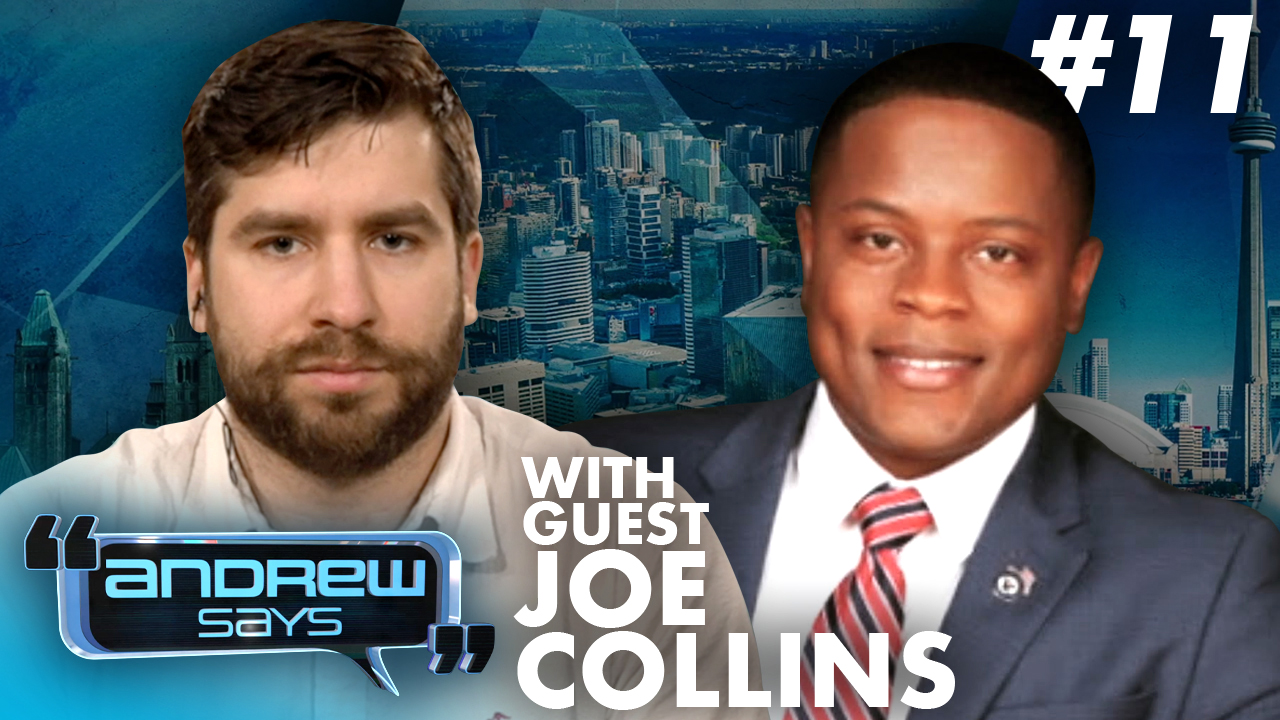 Unity is NOT the Democratic agenda! Joe Collins III on Joe Biden and Maxine Waters