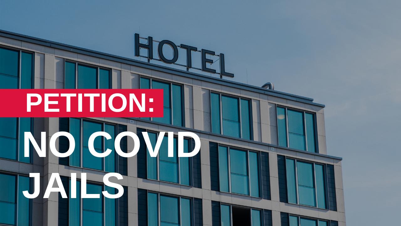 No COVID Jails Petition
