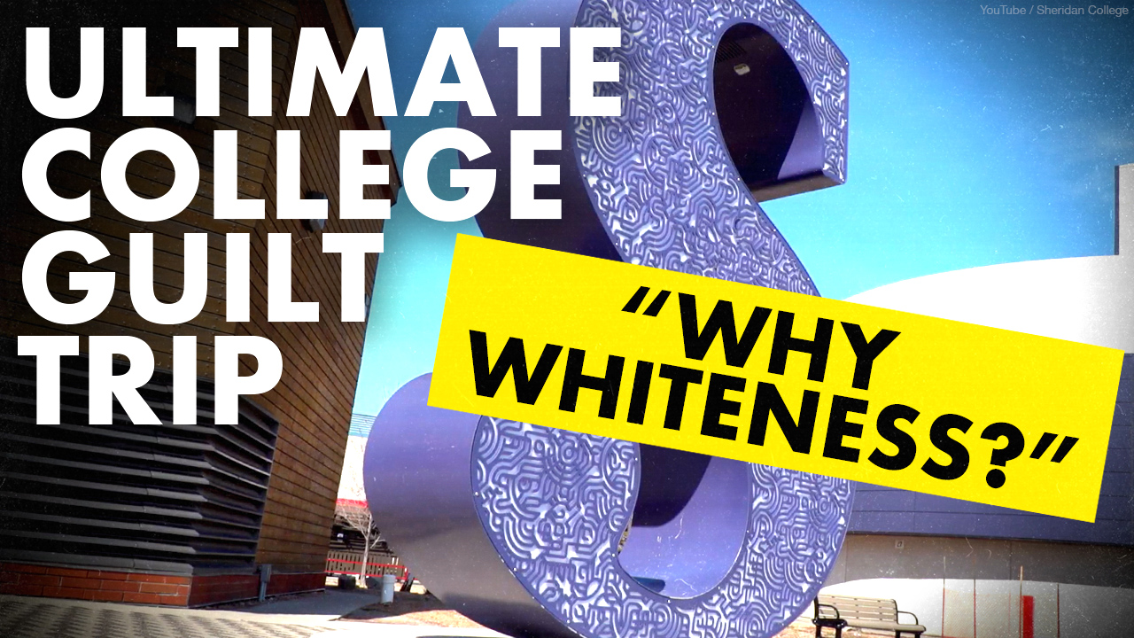 """Why Whiteness?"" Leaked college diversity training claims white people ""dominant"" over other races"