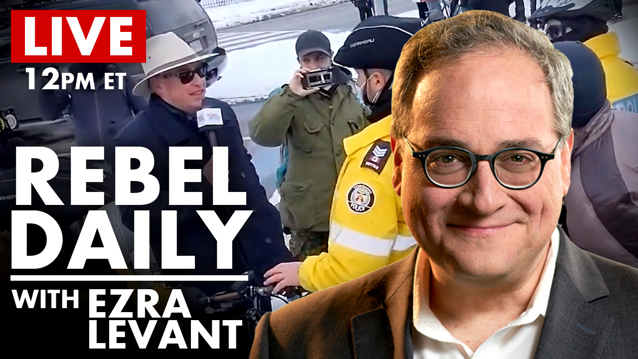"DAILY | Rebel Reporter Ticketed in Montreal, Trudeau's New COVID ""Variants"""