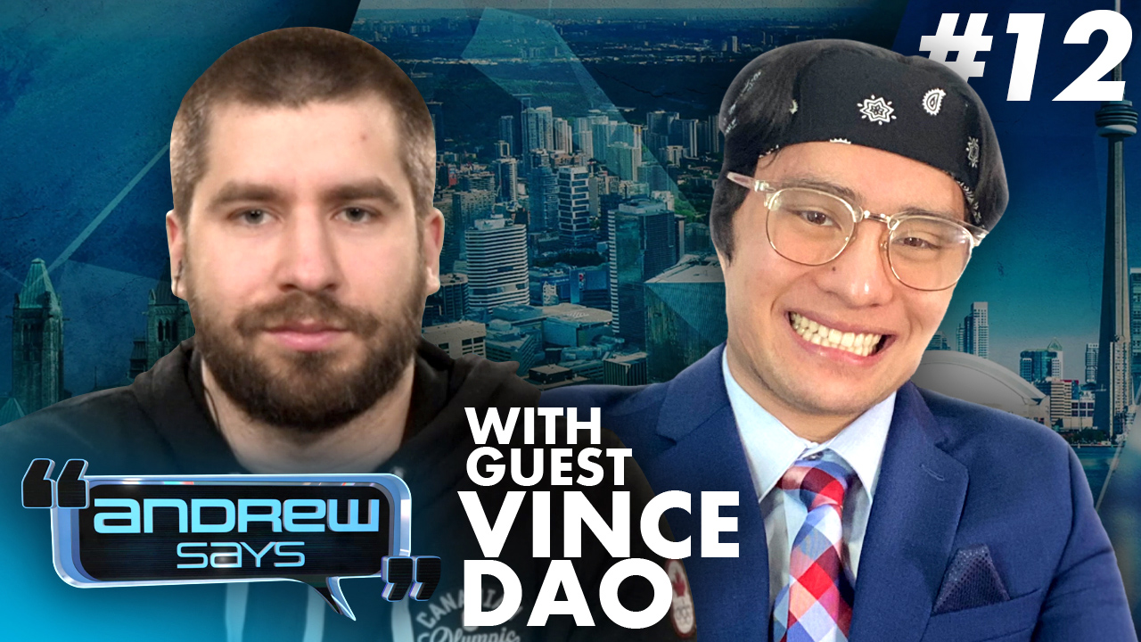 High schooler doxed for criticism of Black Lives Matter riots | Vince Dao on Andrew Says #12