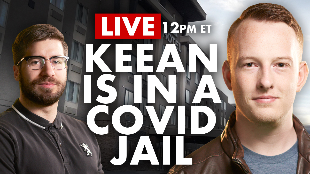DAILY | Keean Bexte live from a COVID JAIL!