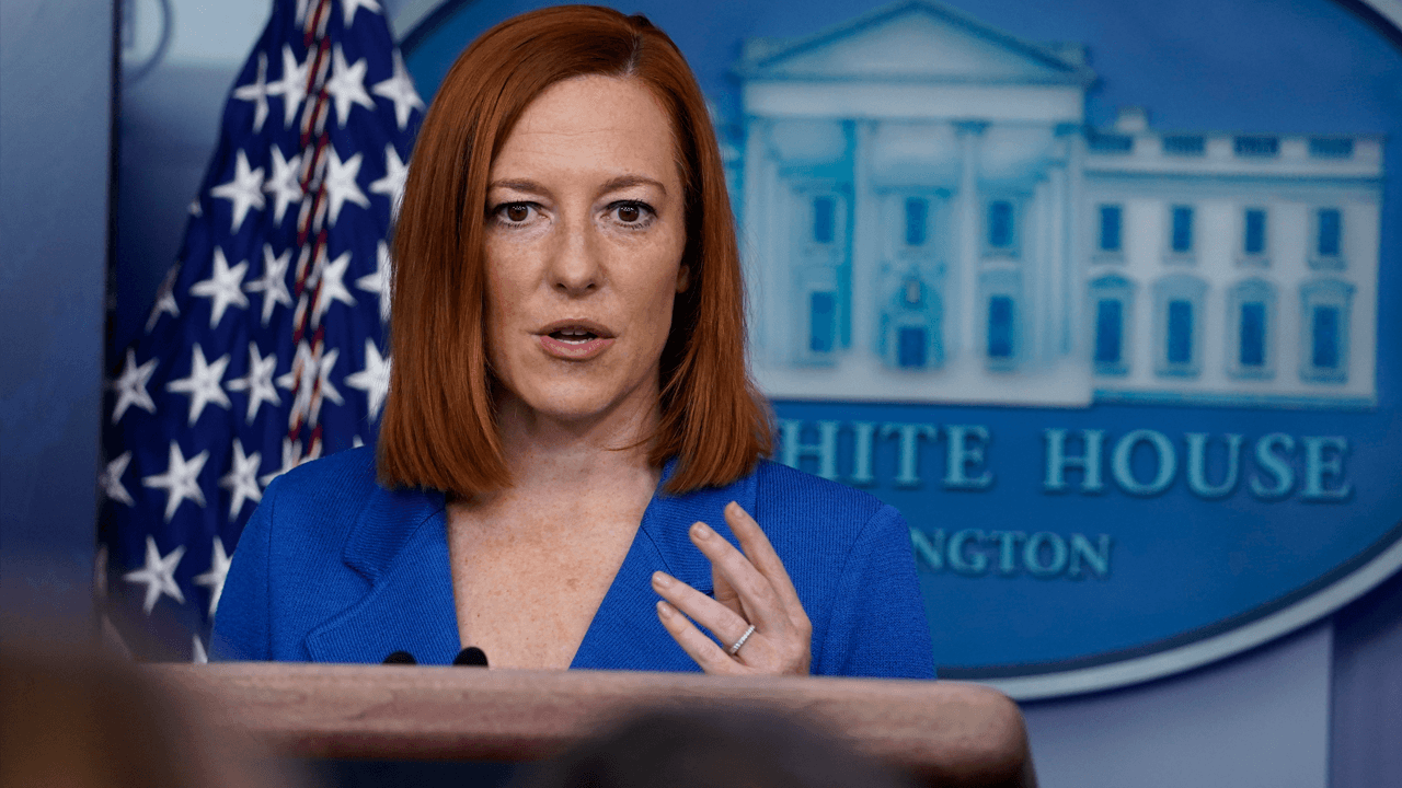 Jen Psaki doesn't deny Trump saying Biden sold out to the teachers' unions