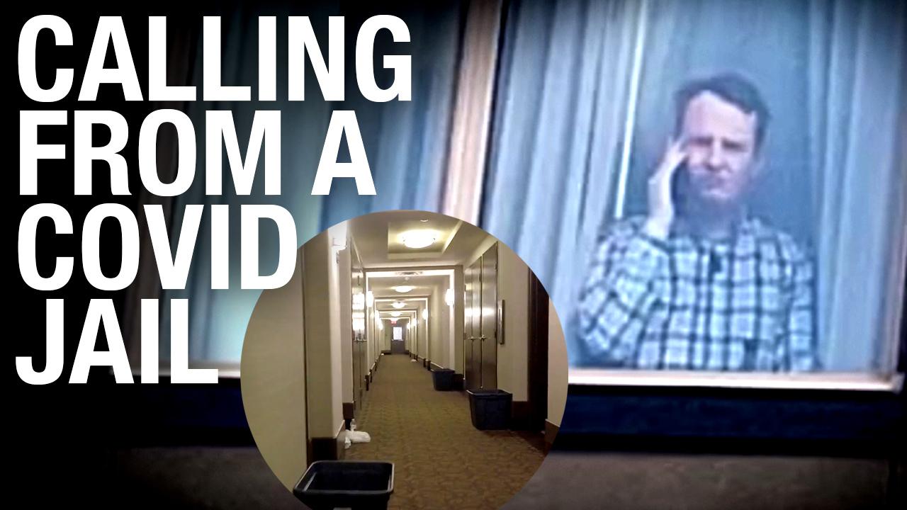 Once a conspiracy, now reality: Sheila Gunn Reid interviews Keean Bexte from inside a COVID jail