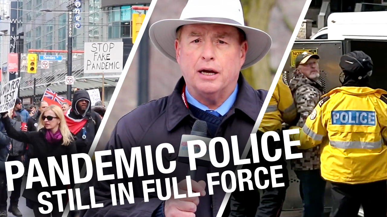 Arrests, tickets and no answers: Toronto police continue crackdown on anti-lockdown protests