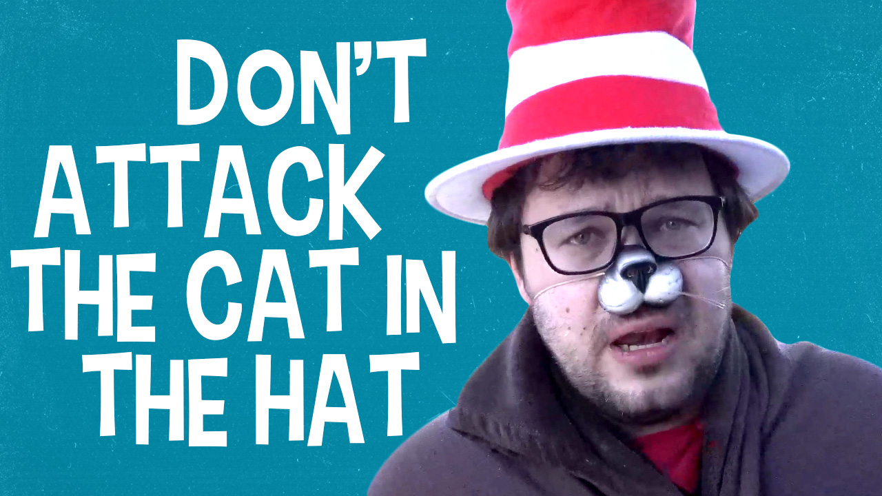 The Cat in the Hat says: please, don't cancel that
