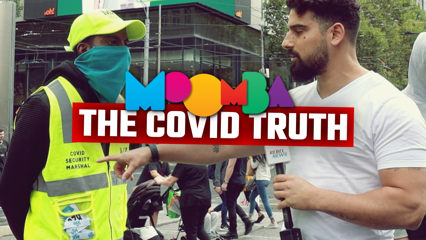 WATCH Avi Yemini expose the double standard of Moomba yesterday