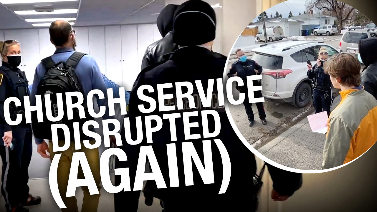 Calgary police, public health again enter Fairview Baptist Church while services ongoing