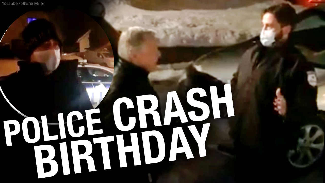 Quebec cops crash kids birthday party, fine the family $1,550 each