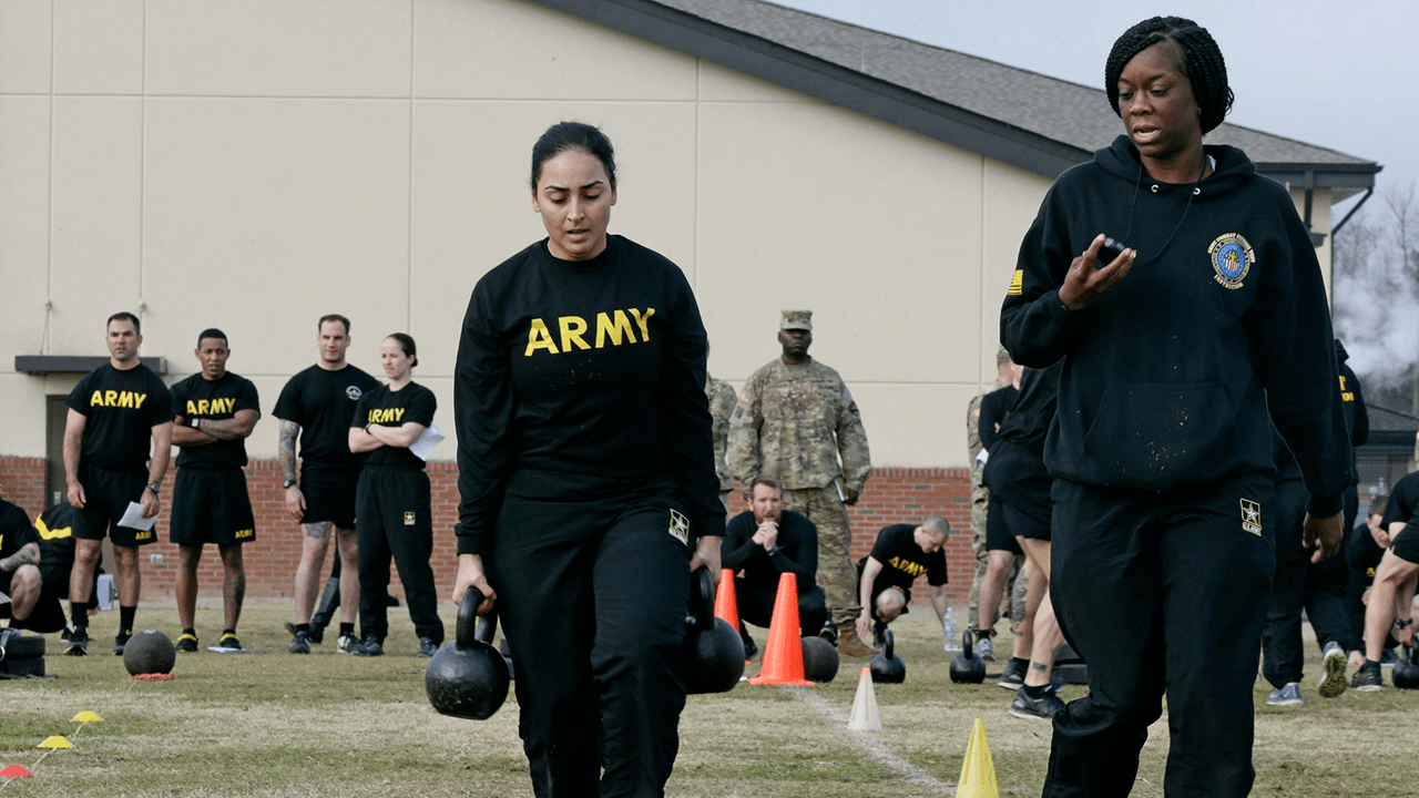 U.S. Army considering cancelling 'gender-neutral' fitness test after study finds 65% of women fail
