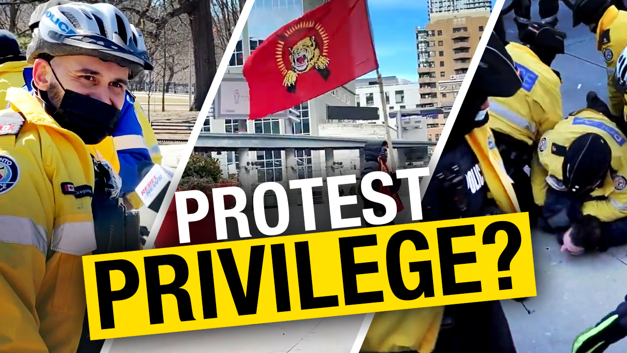 Police double standards on display in Toronto